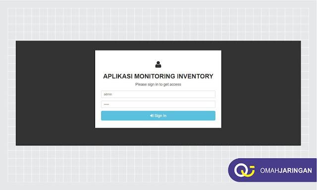 Fitur Form Login Pengguna Review Aplikasi Inventory Barang Berbasis Web Php, MySQL dan Codeigniter
