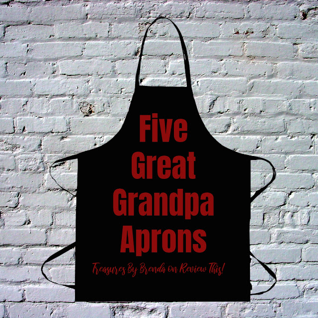 Discover five fun aprons for the grandfather in your life!