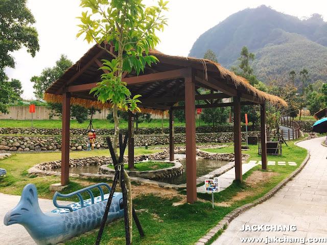 泰雅故事公園、羅浮溫泉泡腳池