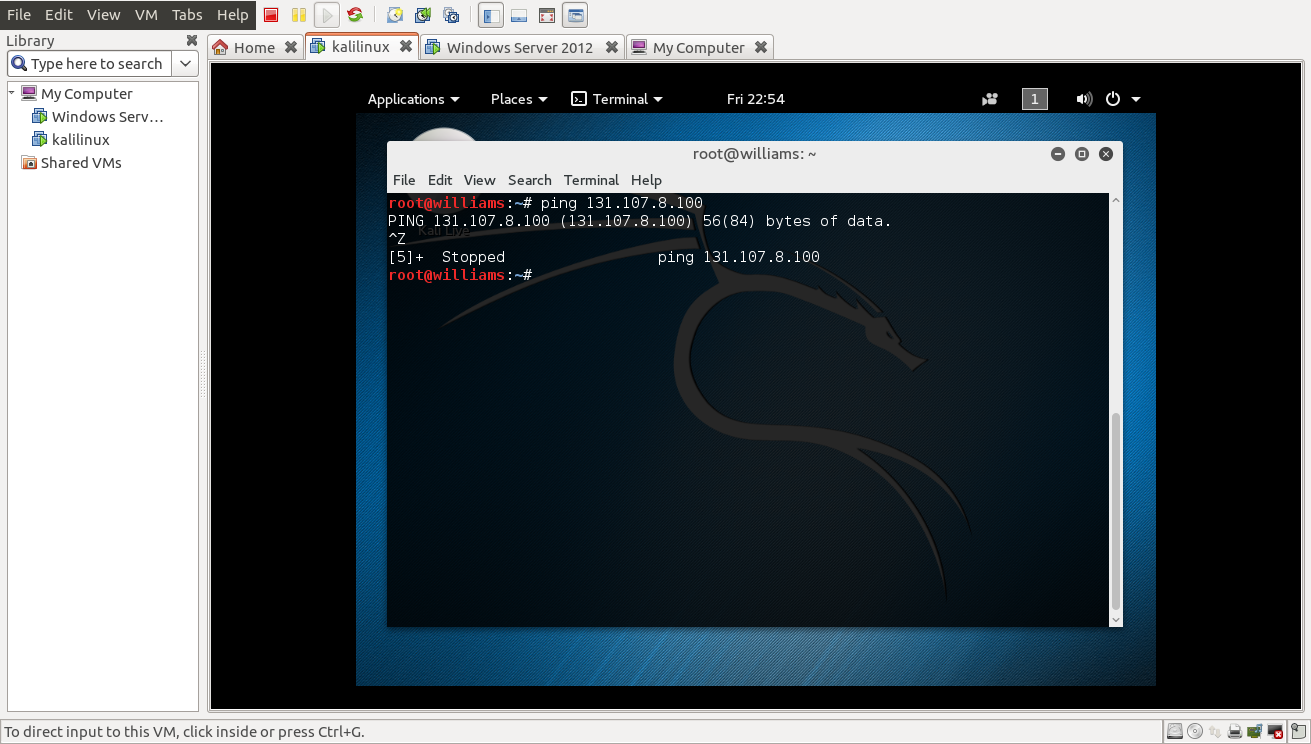 how to turn off firewall in kali linux