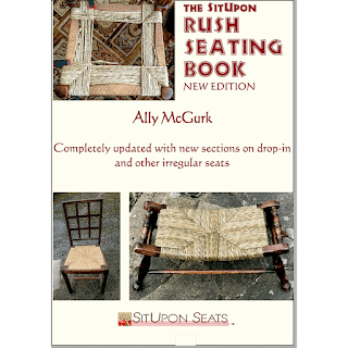 instruction book for woven seagrass stools