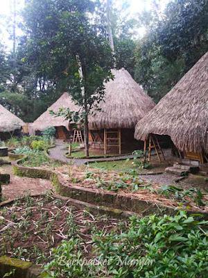 Camp terbuat dari Bambu