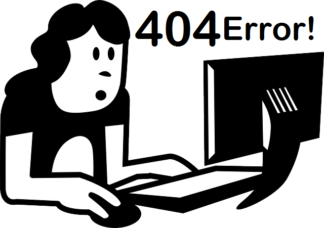 cool-404-error-page, computer, machine, woman, office, home