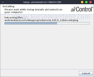 Cara Install Server airControl Ubiquiti di Linux