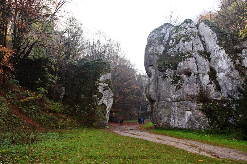 Ojców, Ojcowski Park Narodowy, małopolskie, Dolina Prądnika, Brama Krakowska