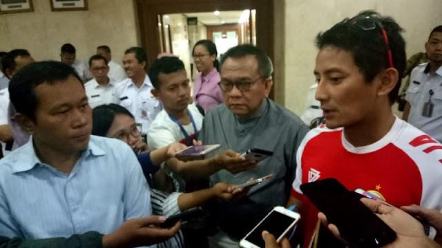Sandi: Becak di Jakarta adalah Kontrak Politik, sebagai Pariwisata