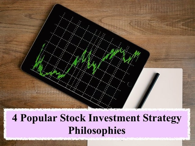 popular stock investment strategy philosophies stocks market investing