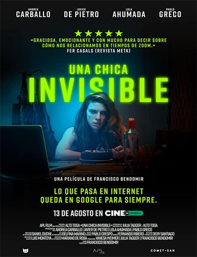 Una Chica Invisible (2020) | DVDRip Latino HD GoogleDrive 1 Link