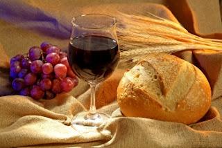pão sem fermento,santa ceia,cerimonial religioso,vinho,pão e o vinho