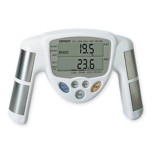 aparato para medir porcentaje de grasa corporal