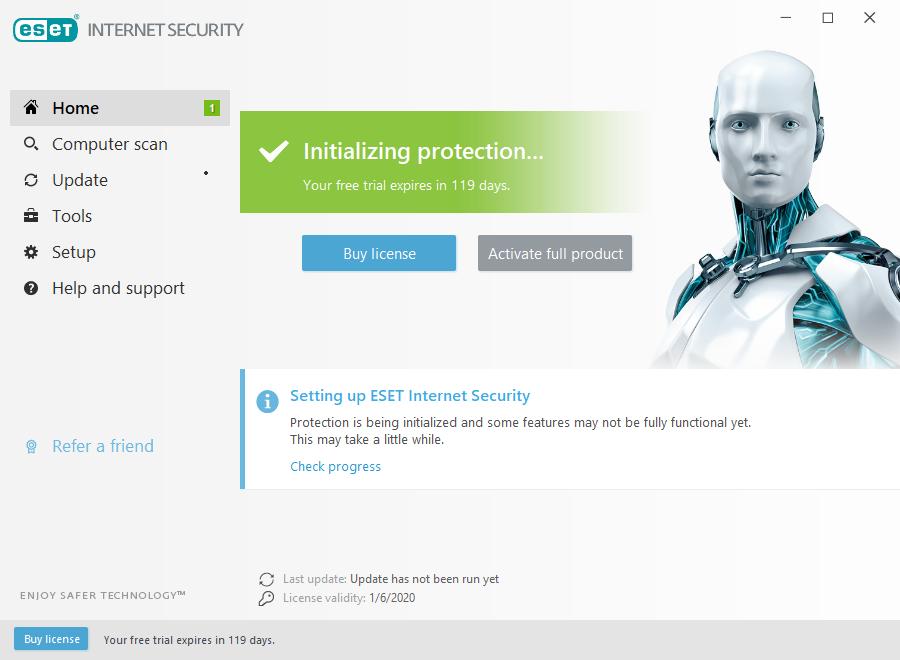 Get ESET Internet Security Free License 4 Months