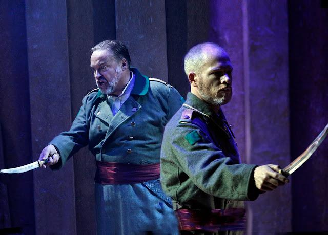 Handel: Belshazzar - Henry Waddington, Christopher Ainslie - The Grange Festival 2019 (Photo Simon Annand)