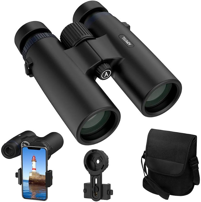60% OFF Binoculars for Adults, 10x42 Compact