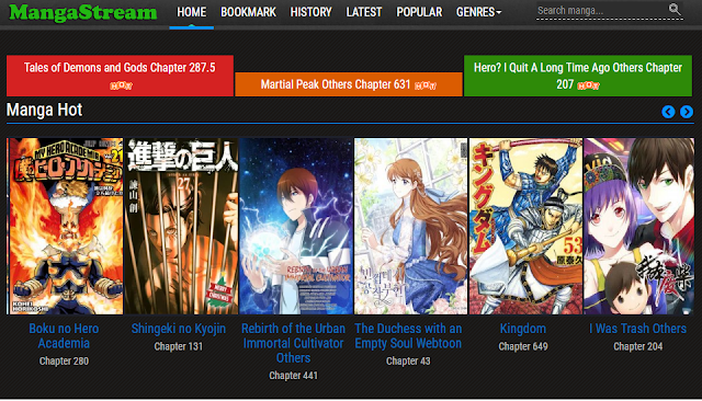 MangaStream Alternative - Read Manga Online for Free