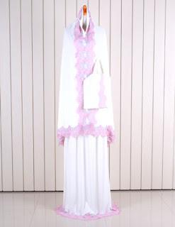 Jual Online Mukena Bergo Model Fashion Korea Terbaru diJakarta