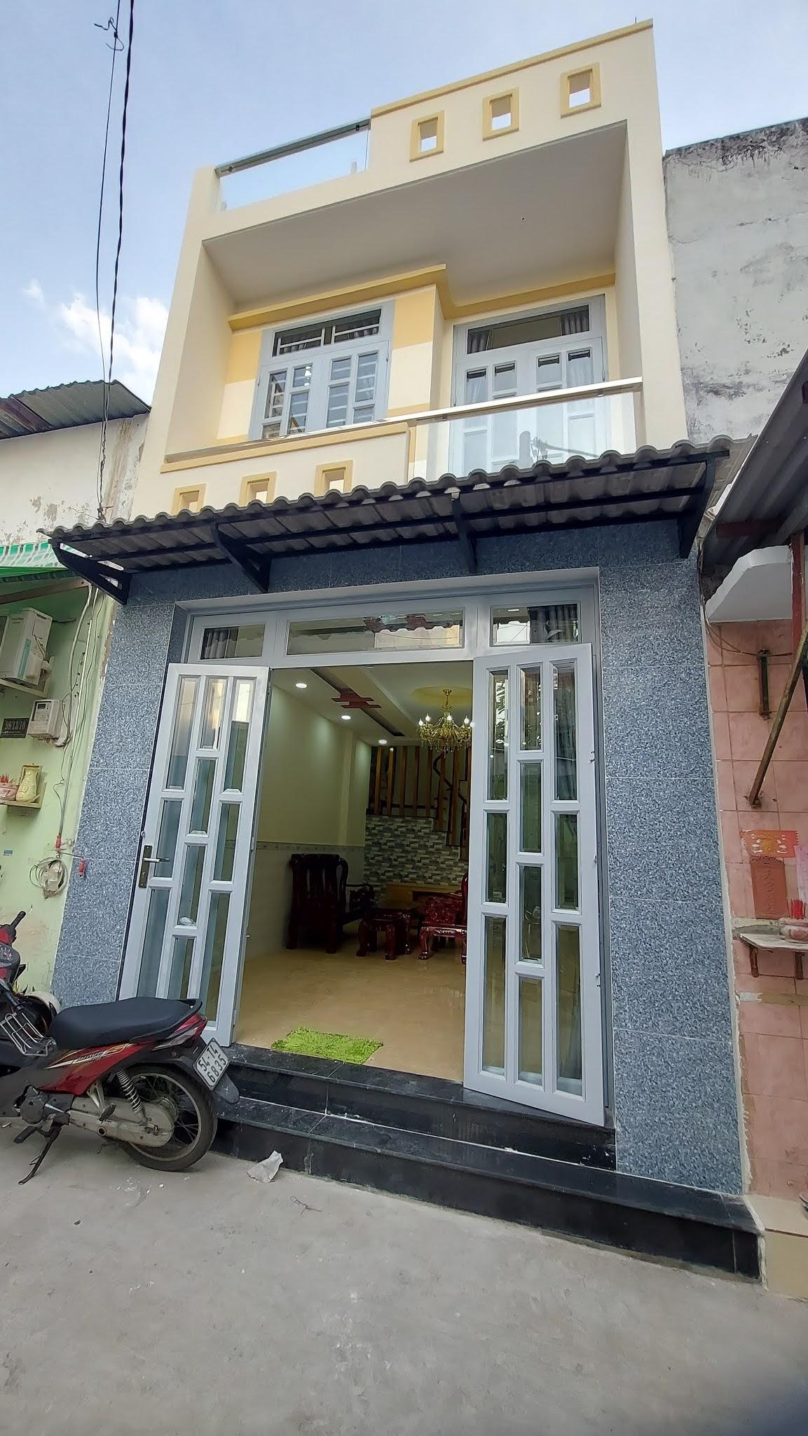 Bán nhà đường Đất Mới Bình Trị Đông quận Bình Tân dưới 4 tỷ