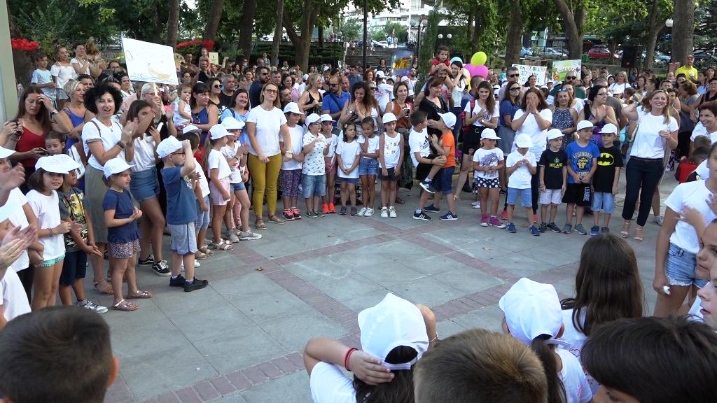 """Χαμόγελα στην εκδήλωση λήξης για την """"Κατασκήνωση στην Πόλη"""" (ΦΩΤΟ)"""