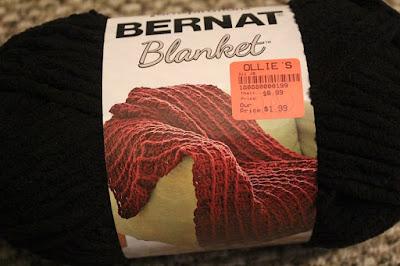 Bernat Blanket, yarn, crochet, Ollie's