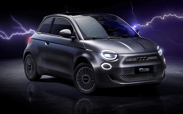 Novo Fiat 500 Elétrico 2022 - Brasil