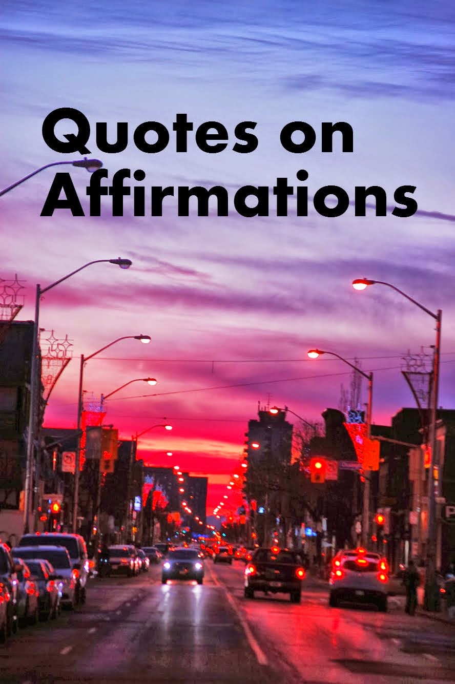 Quotes on Affirmations
