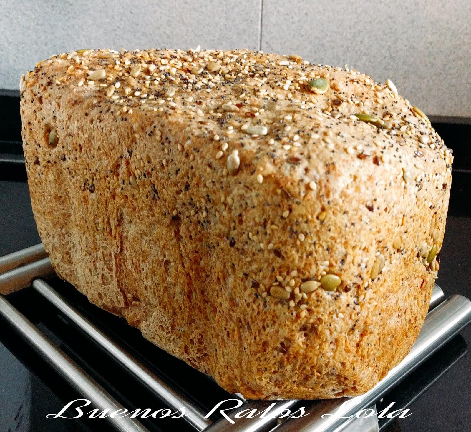 pan con harina de espelta y levadura fresca