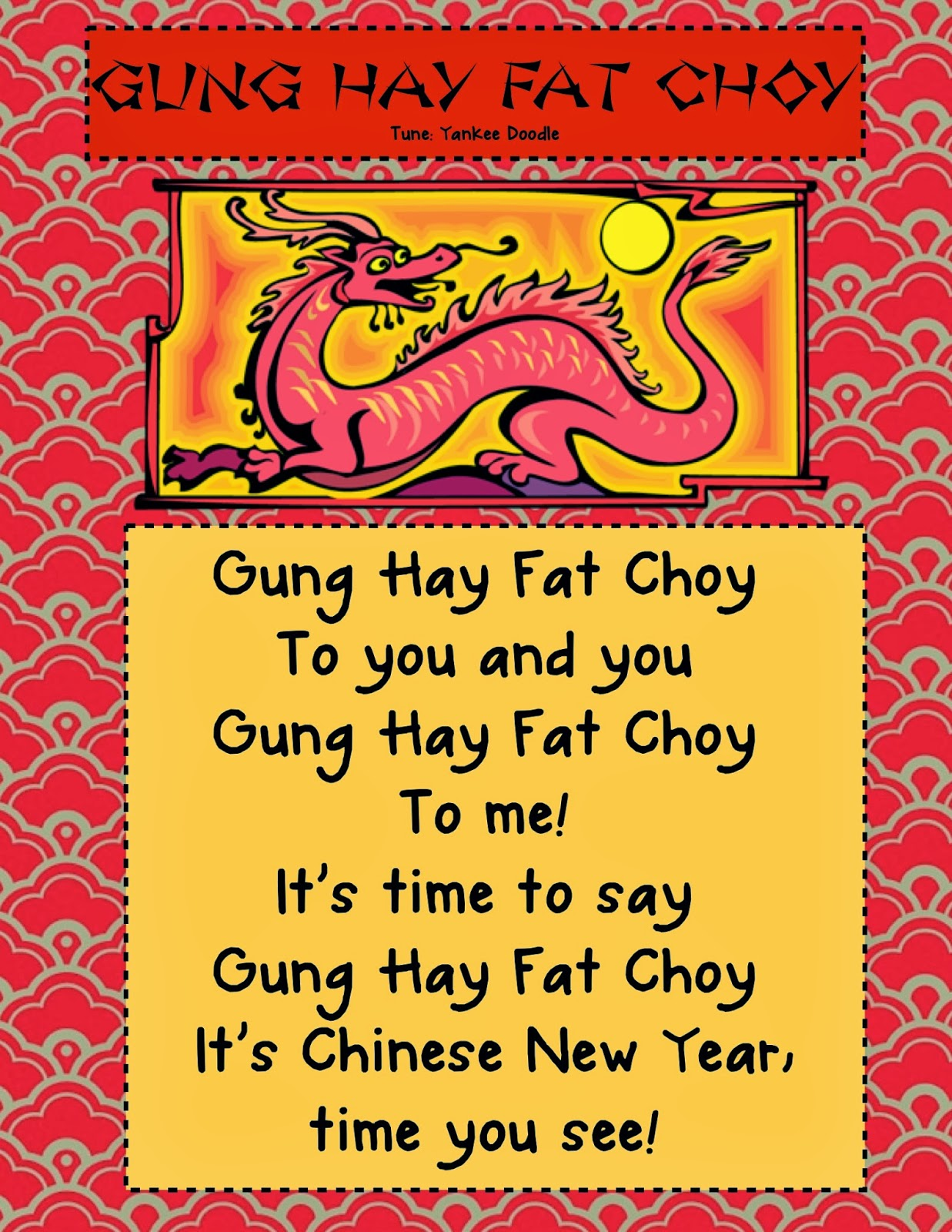 Kindergarten Kiosk Chinese New Year Thematic Unit For