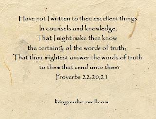 Proverbs 22:20,21