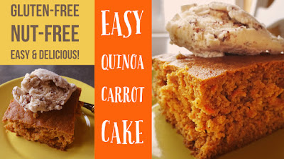 Carrot Cake With Quinoa Flour