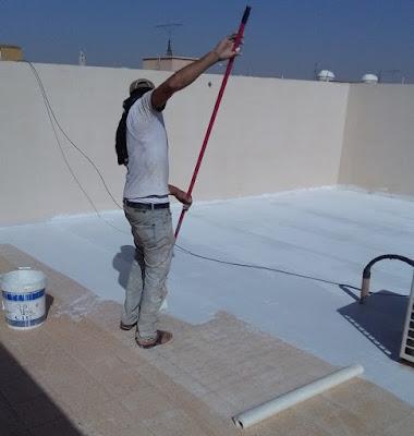 عزل اسطح منازل
