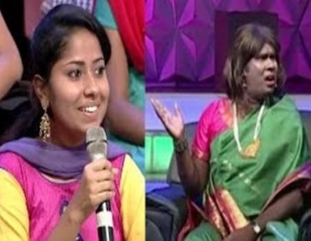 Neeya Naana Girl speech Boys Reaction (Funny Meme)