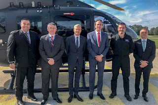 Governo do Ceará negocia aquisição de mais dois helicópteros para reforço da frota