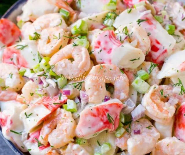 Homemade Seafood Salad