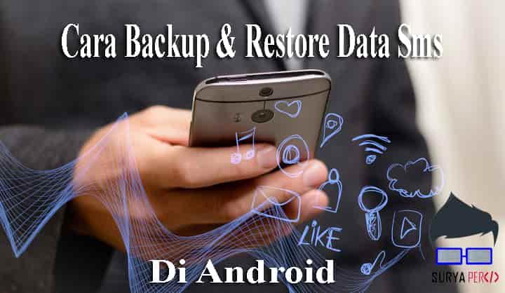 cara backup sms ke google drive