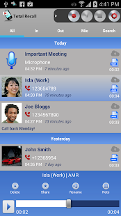 Call Recorder Galaxy S9 | Total Recall v2.0.78 [Unlocked] APK