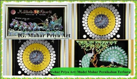 Mahar Priya Art: Model Mahar Pernikahan Terbaru, Jadi Tren 2020