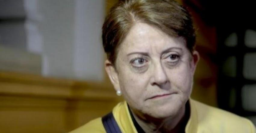 Referéndum para NO reelección de Congresistas son «tonterías populistas», según la parlamentaria fujimorista Lourdes Alcorta