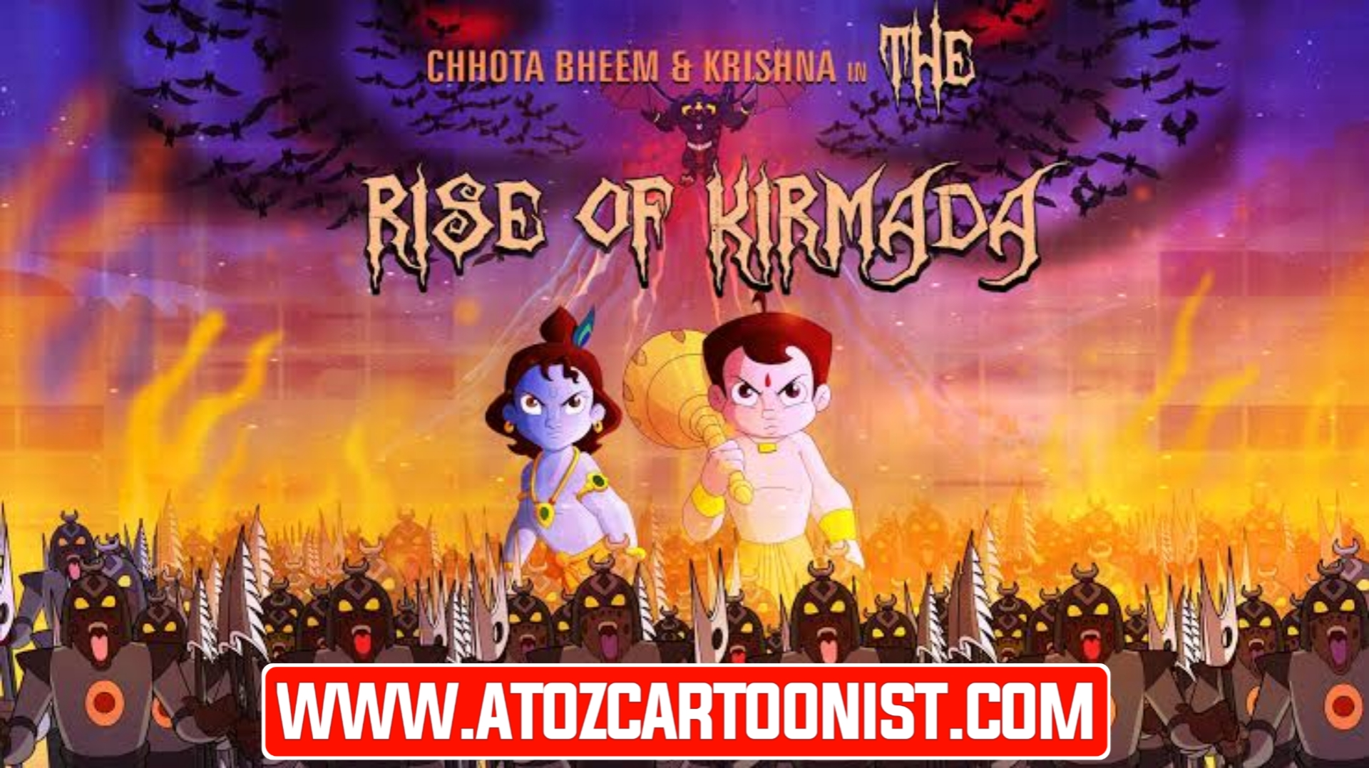 CHHOTA BHEEM & KRISHNA IN THE RISE OF KIRMADA FULL MOVIE IN HINDI & TAMIL DOWNLOAD (480P, 720P & 1080P)