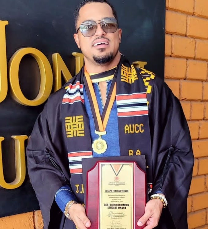 Actor Van Vicker completes his Bachelors degree after 21 years of graduating from high-school