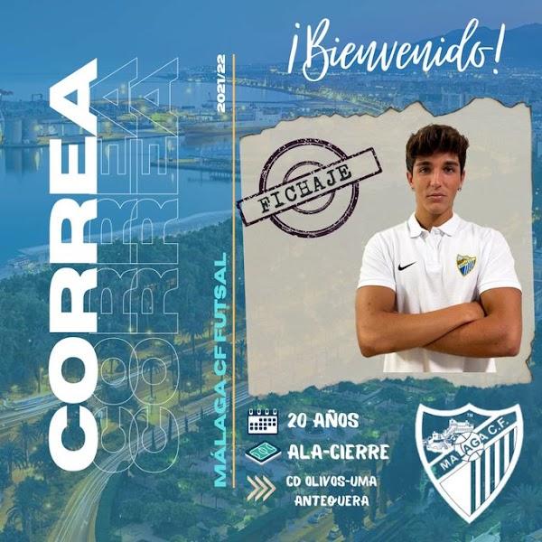 Oficial: El Málaga CF Futsal firma a Ale Correa