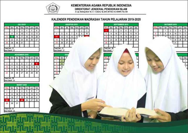 Kaldik Madrasah 2019/2020