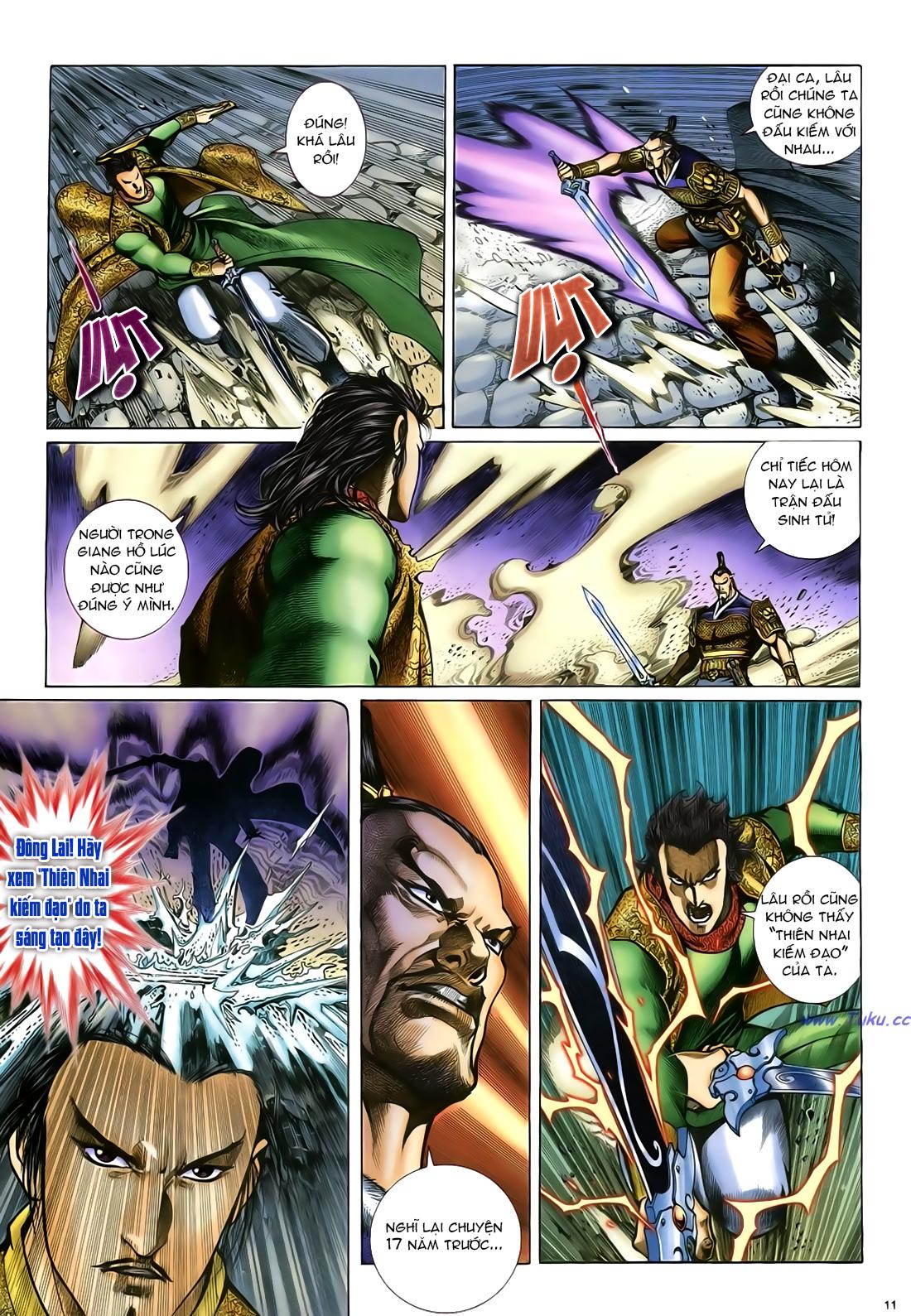 Anh hùng vô lệ Chap 24 trang 12
