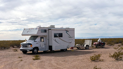 Boondocking/Uraling near Truth or Consequences, New Mexico