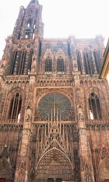 Notre-Dame, Francja, Strasbourg, katedra, zabytek, styl gotycki