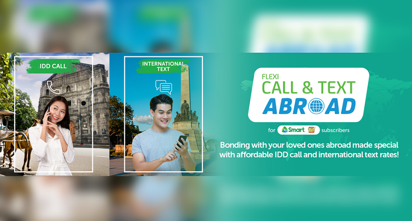 Smart Flexi Call and Text Abroad Promo