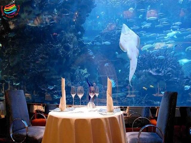 Al Mahara Restaurant - Burj Al Arab Dubai