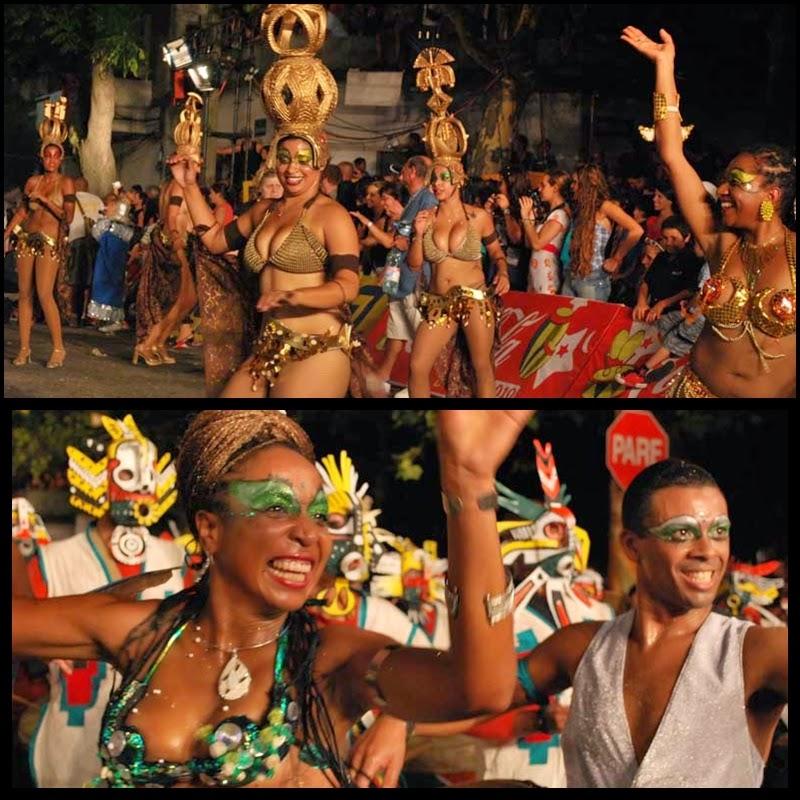 Carnaval. Desfile de Llamadas. Montevideo.Mi Morena. 2010.