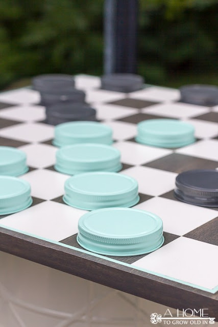outdoor games, oversized outdoor checkers