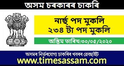 DME, Assam Job 2020