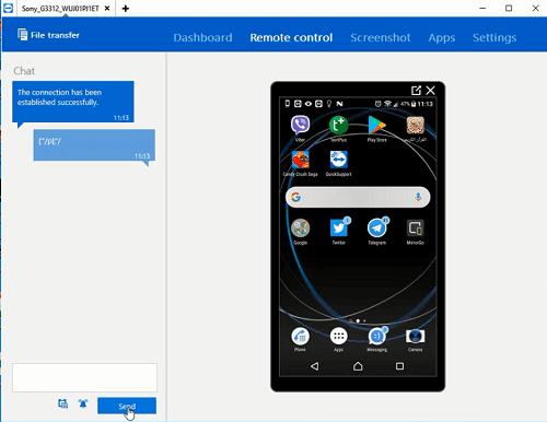 عرض شاشة هاتف الاندرويد على الكمبيوتر والتحكم بها بشكل كامل بدون كابل وبدون روت