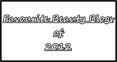Favourite Beauty Blogs of 2012